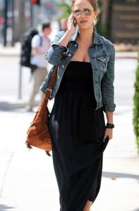 Must have black Maxi dress xs